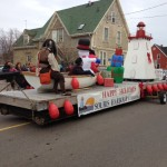 2013 Santa Clause Parade Float